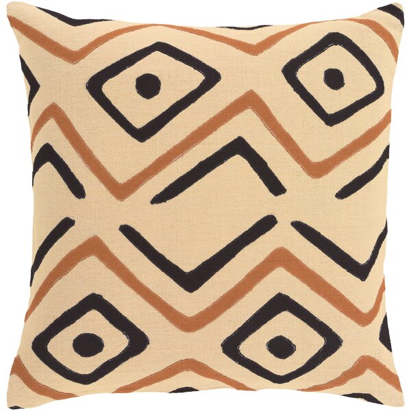 Anders 100% Linen Throw Pillow Cover by Bloomsbury Market